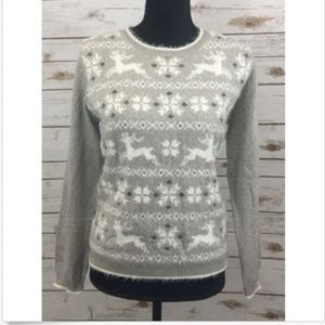 Alfred Dunner Petite Pullover Sweater Long Sleeve